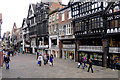 SJ4066 : Eastgate Row, Eastgate Street, Chester by Cameraman