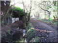 TQ4466 : The Kyd Brook - East Branch, west of Monks Way, BR5 by Mike Quinn