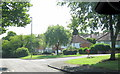 SP0378 : West Heath, Rednal Road With Aversley Road on Right by Roy Hughes