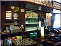 SJ7666 : The bar at the Swan by Ian S
