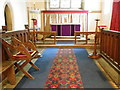 NZ6009 : Interior, St Cuthbert's Church by Miss Steel