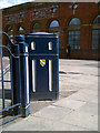 SJ9399 : Bin in Ashton-under-Lyne by Steven Haslington