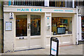 SJ4066 : Hair Cafe, Watergate Street, Chester by Cameraman