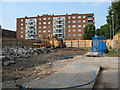 TQ3378 : Demolition site on Lynton Road by Stephen Craven