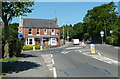 SK3571 : Road junction, Old Road and Storrs Road by Andrew Hill