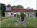 SU3226 : St Andrew's Church, Mottisfont by Miss Steel