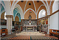 TQ2480 : St Francis of Assisi, Pottery Lane - Sanctuary by John Salmon