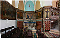 TQ2480 : St Francis of Assisi, Pottery Lane - North chapel by John Salmon