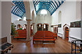 TQ2480 : St Francis of Assisi, Pottery Lane - West end by John Salmon