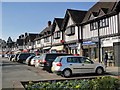 TQ4365 : Parade of mock Tudorbethan shops, Crofton Road, BR6 by Mike Quinn