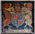 TG0117 : All Saints, Swanton Morley - Royal Arms by John Salmon