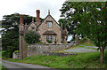SJ3514 : Lodge and gates, Alberbury (2) by Stephen Richards