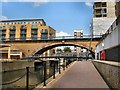 TQ3681 : Railway Viaduct - Limehouse by Paul Gillett