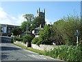 SW9942 : Gorran church by David Smith