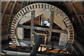TL4574 : Haddenham Great Mill - Brake Wheel by Ashley Dace
