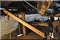TL4574 : Haddenham Great Mill - Sack Hoist by Ashley Dace