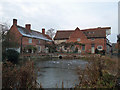 TM0733 : Flatford Mill with a November Frost by Roger Jones