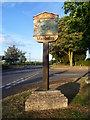 TF1402 : Marholm village sign by Marathon
