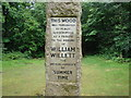 TQ4469 : William Willett Memorial Sundial by Robert Lamb