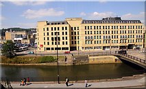 ST7464 : The River Avon in Bath by Steve Daniels