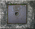 J5383 : Drain cover, Groomsport by Rossographer