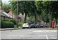 SP0184 : Tennal Road, Tennal Lane Crossroads, Harborne by Roy Hughes