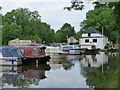 SO2713 : Canal Boats, Monmouthshire and Brecon Canal by Robin Drayton