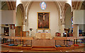 TQ3585 : St Barnabas, Homerton High Street - Sanctuary by John Salmon