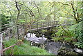 SX5381 : Footbridge over the River Tavy by Graham Horn
