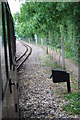 TG2223 : Bure Valley Railway passing loop by Glen Denny