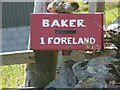 NR2663 : Baker's postbox, Foreland, Islay by Becky Williamson