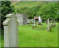 NH1784 : Graveyard at Lochbroom Church of Scotland by Dave Fergusson