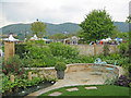 SO7842 : Show garden at the 2010 Spring Garden Show by Trevor Rickard