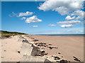 NU2510 : Beach at Alnmouth Bay : Week 24