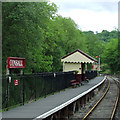 SK0048 : Consall Station, Staffordshire by Roger  Kidd