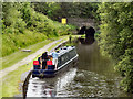 SD9701 : Narrowboat Below Lock 12W by David Dixon