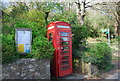 TQ4651 : K6Telephone Kiosk, Toy's Hill by Nigel Chadwick
