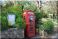 TQ4651 : K6Telephone Kiosk, Toy's Hill by N Chadwick