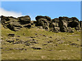 SE0310 : Millstone Grit Escarpment, Pule Hill, Standedge by David Dixon