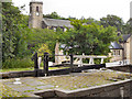SE0713 : Lock and Church, Slaithwaite by David Dixon