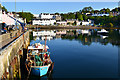 NG4843 : Portree Harbour by John Allan