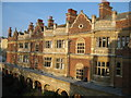 TL4458 : Cloister Court, Sidney Sussex College by David Purchase