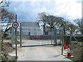 SC3371 : Meary Veg Sewage Treatment Works - Access by Derek Tootill