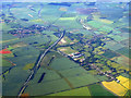 TL5045 : Hinxton from the air by Thomas Nugent