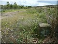SE0121 : Boundary stone, Greave Road, Soyland by Humphrey Bolton