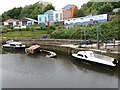 NZ2664 : Boats on the Ouseburn by Oliver Dixon