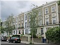 TQ2684 : Terraced houses in Belsize Road, NW6 by Mike Quinn