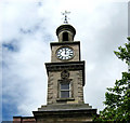 SJ8445 : Clock tower on the Guildhall by Jonathan Kington