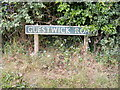 TG0827 : Guestwick Road sign by Adrian Cable