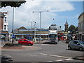 TV6099 : Roundabout on A259 by Oast House Archive
